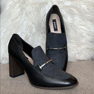 """DKNY """"Sofia"""" Leather Heels"""
